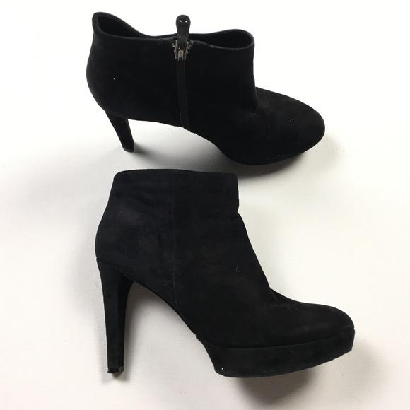 e39c69c5cb1f Rockport Womens Black Suede Leather Zip 4